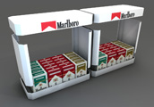 Marlboro pult display